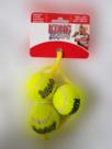 3 stuks Kong Squeakair Balls voor de hond 3 cm