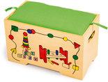 Speelgoedkist met 7 stuks speelgoed