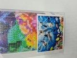 Diamond painting op canvas dolfijnen