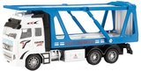 METAL Die-Cast Autotransporter 1:38 Pull Back 12 x 25,5 cm